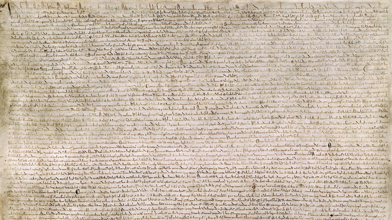 an analysis of the impact of the magna carta in the united states Carpenter's first page informs us that magna carta discriminated against both   there is a fascinating essay on canon law and its influence on.