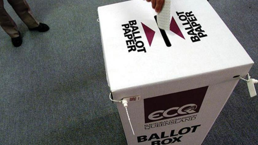 Queensland ballot box