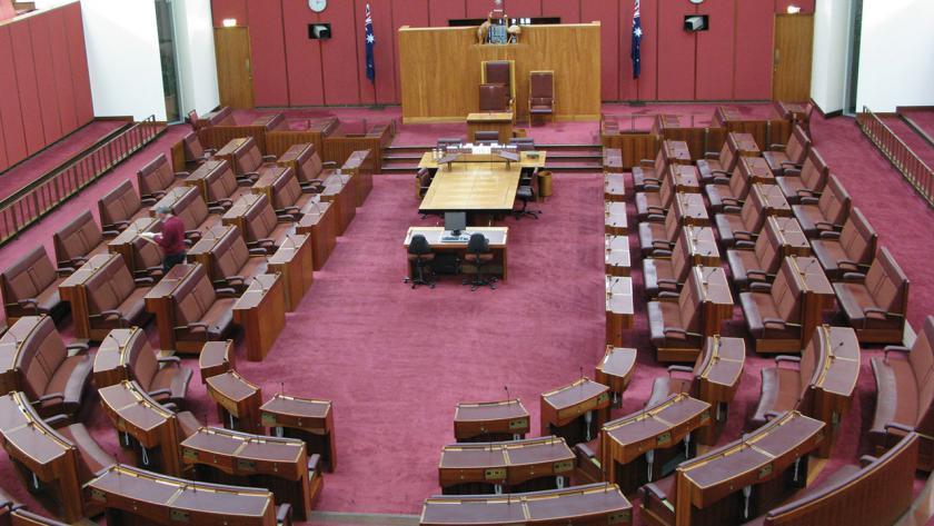 Image of the Senate chamber