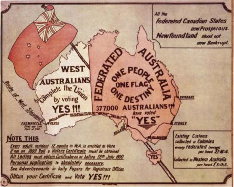 Constitution date in Perth